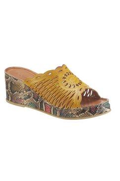 gemini slippers geel