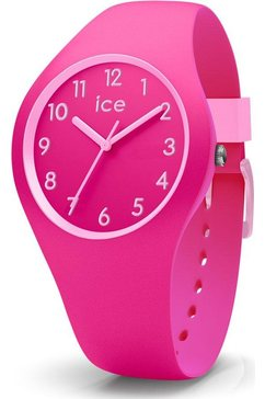 ice-watch kwartshorloge ice ola kids - fairy tale - small - 3h, 014430 roze