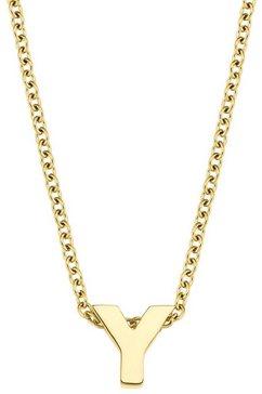 amor ketting met hanger letter a-z, 2026731 goud
