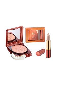 ikos professionele make-up wetdry 2-delige set beige