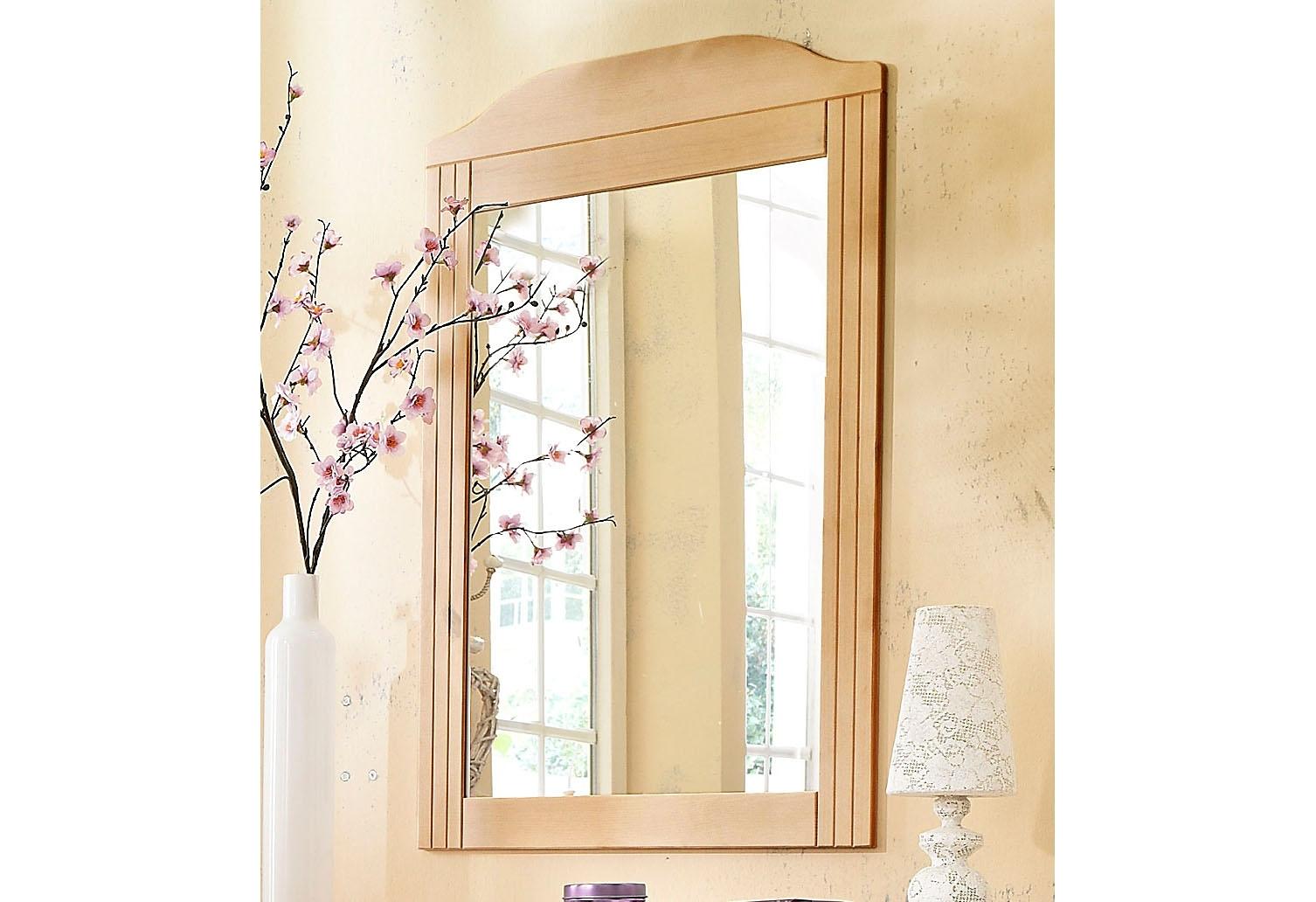 home affaire spiegel van massief grenen in de online. Black Bedroom Furniture Sets. Home Design Ideas
