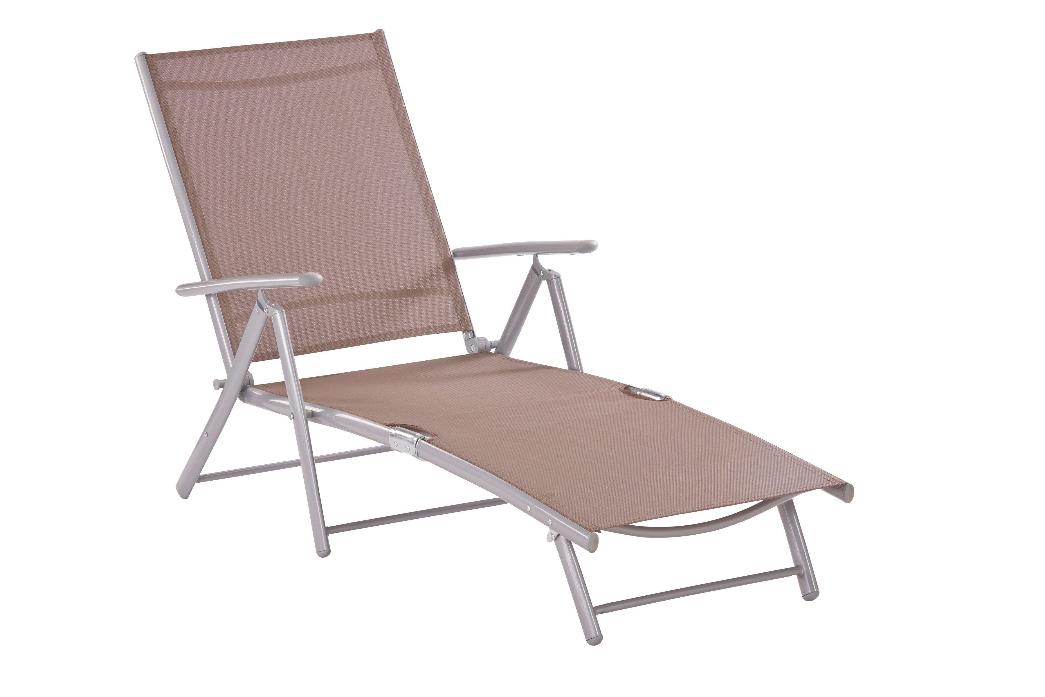 MERXX Ligstoel Aluminium/textiel, inklapbaar bij OTTO online kopen