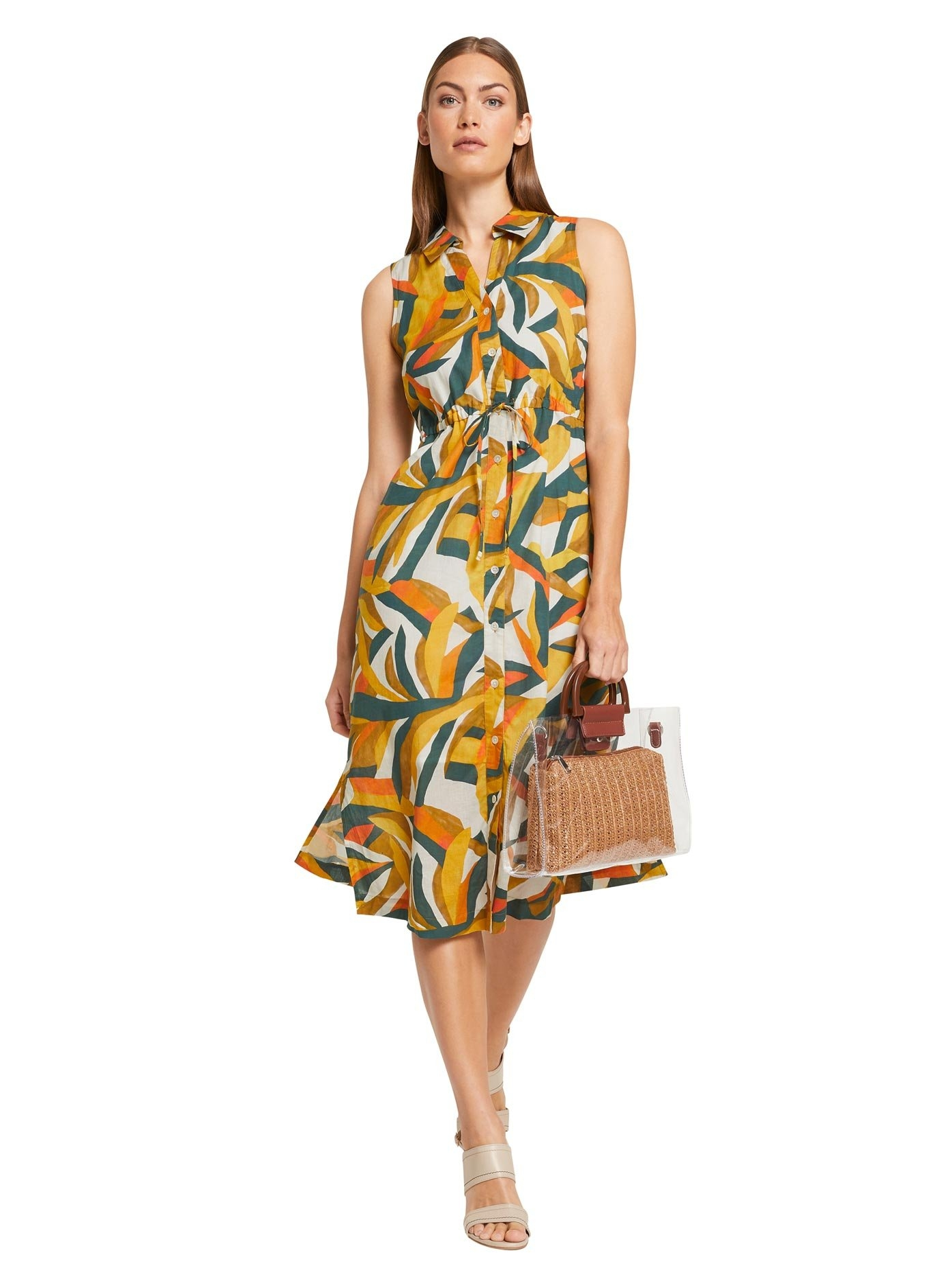 RICK CARDONA by Heine jurk met overhemdkraag Gedessineerde jurk veilig op otto.nl kopen