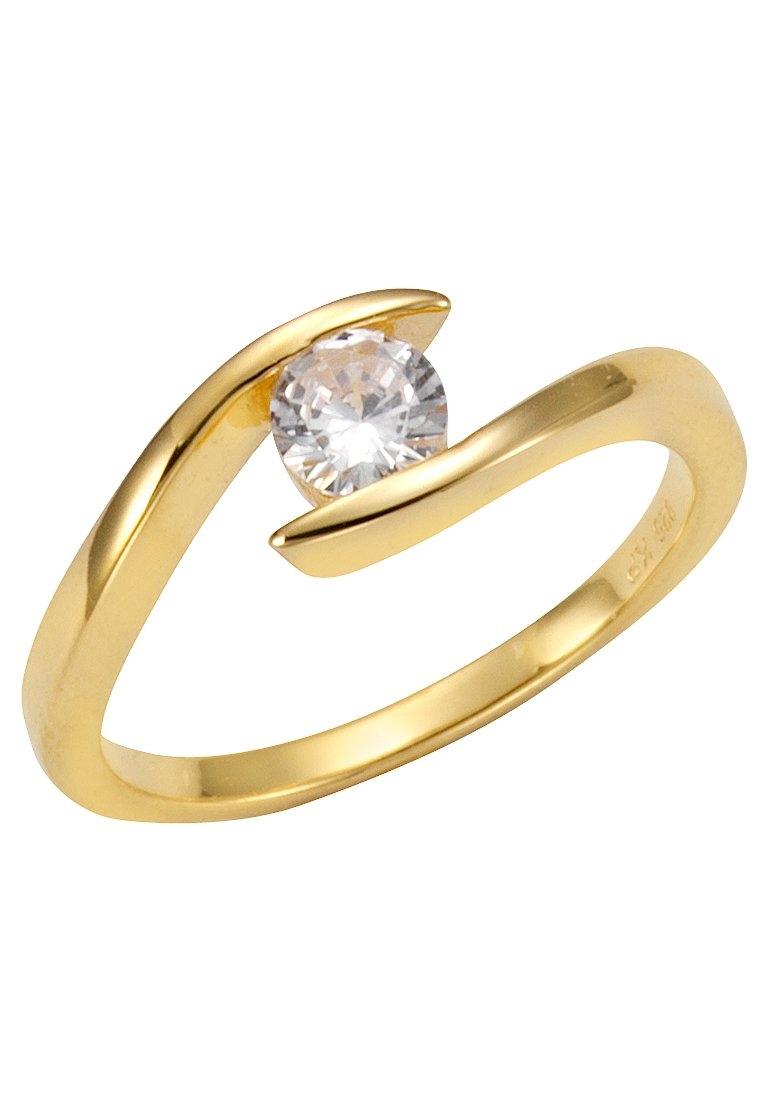 Firetti zilveren ring Glanzend, verguld, gebogen en open model met zirkoon bij OTTO online kopen