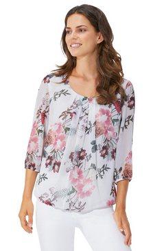 lady blouse zonder sluiting beige