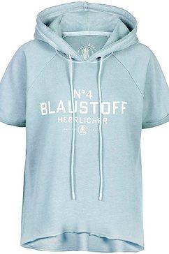 herrlicher sweatshirt anniston blauw