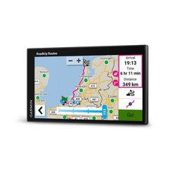 garmin navigatiesysteem voor de auto campervan zwart