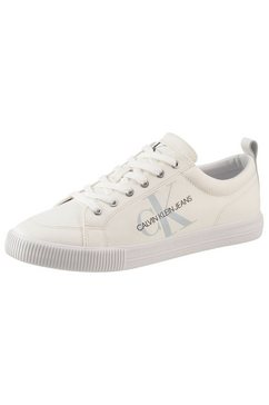 calvin klein sneakers met zacht verdikte binnenzool wit