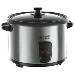 russell hobbs rijstkoker 19750-56 »cook@home» met extra stoommandje zilver