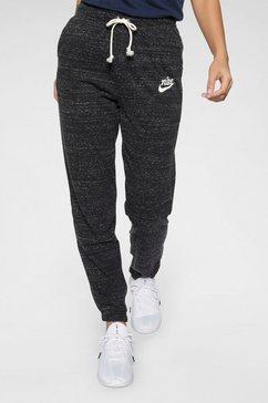 nike sportswear joggingbroek »nike sportswear gym vintage women's« grijs