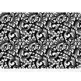 queence set placemats ps0170 (set, 4 stuks) zwart