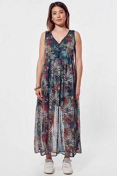 kaporal maxi-jurk july met v-hals multicolor