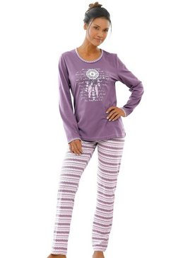 pastunette pyjama paars