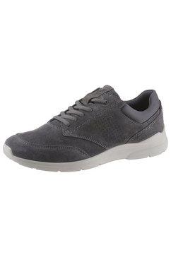 ecco sneakers irving met lichte loopzool grijs