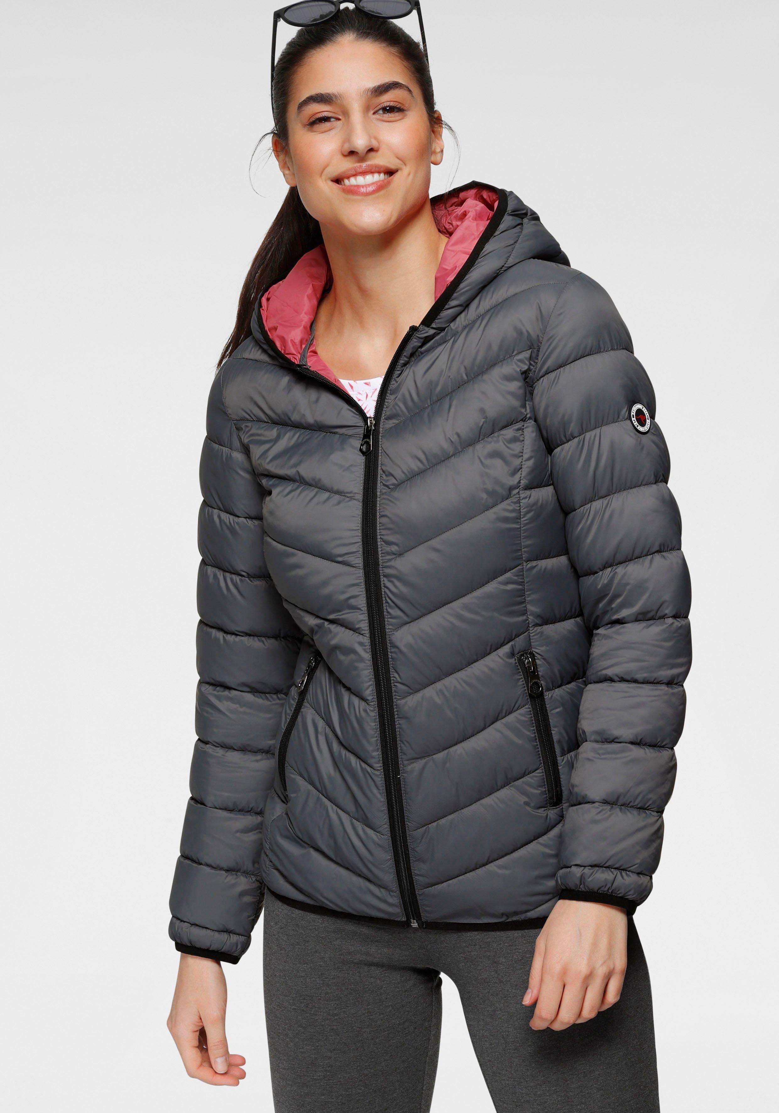 KangaROOS gewatteerde jas met contrastkleurige details bij OTTO online kopen