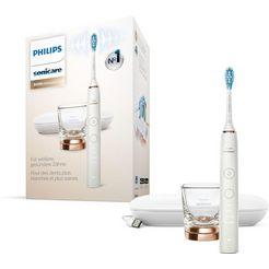 philips sonicare elektrische tandenborstel hx9911, opzetborstels: 1 st. wit