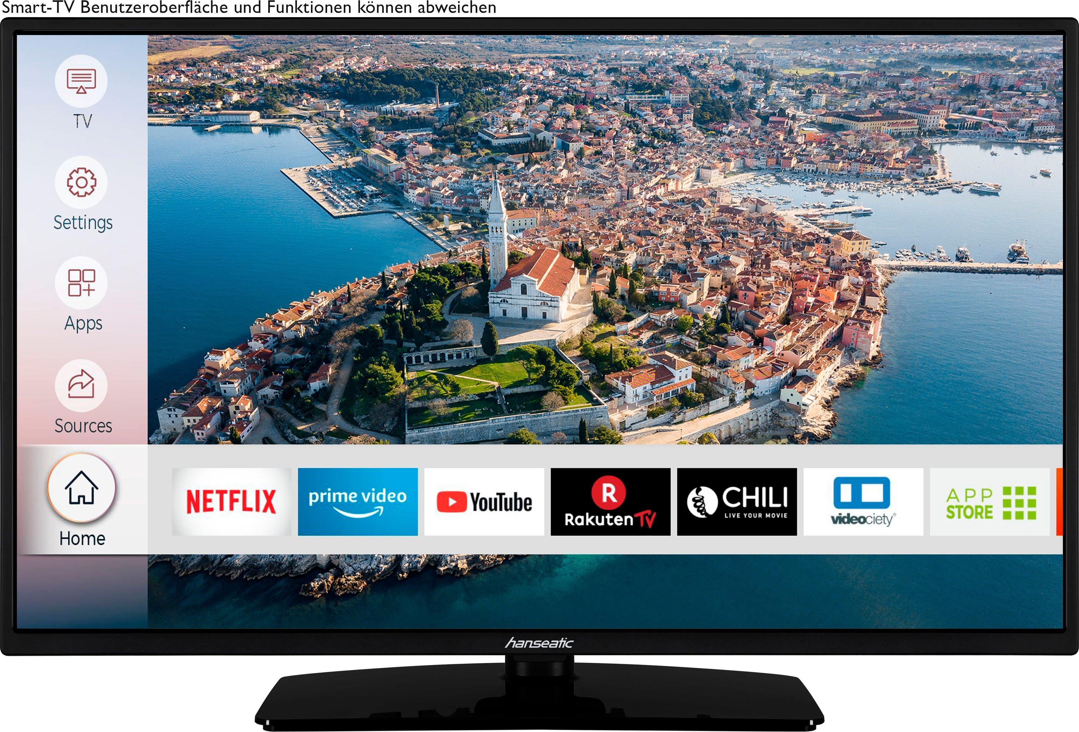 Hanseatic LED-TV 32H500FDSII, 80 cm / 32