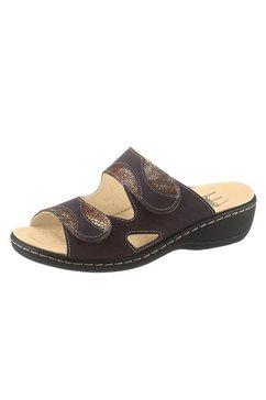 belvida slippers met pu-antislipzool zwart