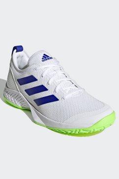 adidas performance tennisschoenen male multi-court wit