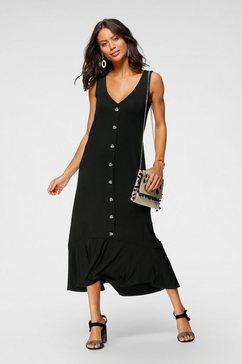 laura scott midi-jurk zwart