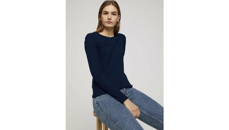 Tom Tailor Denim shirt met lange mouwen