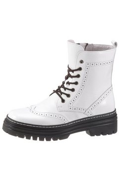 gabor hoge veterschoenen wit