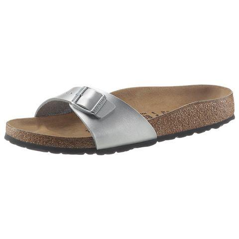 Heine Dames BIRKENSTOCK slippers zilverkleur 35 (2,5-3),36,37 (4,5),38 (5),39 (5,5-6),40 (6,5),41 (7