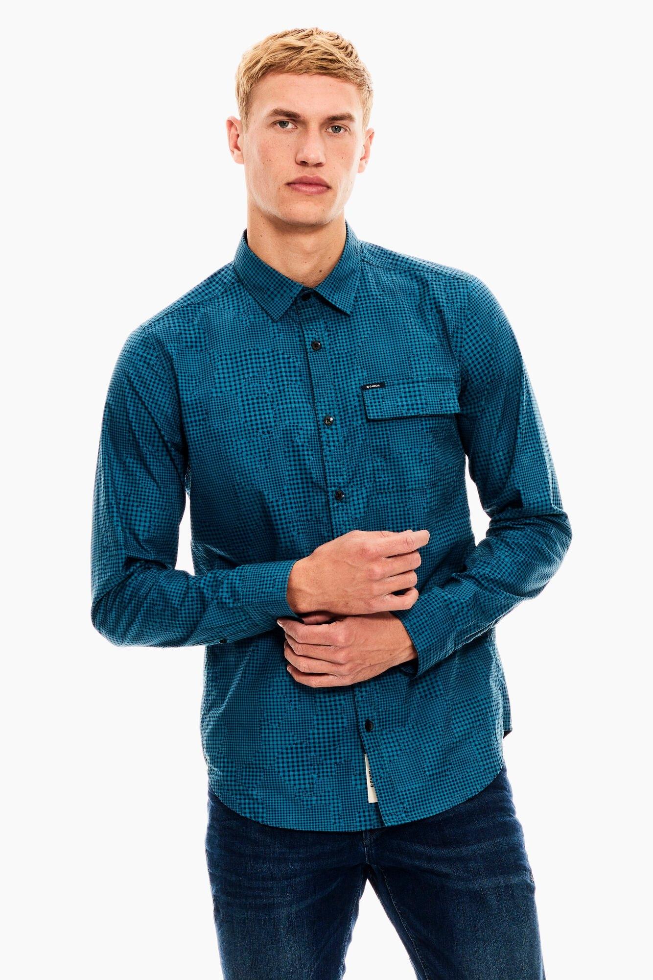 Op zoek naar een Garcia overhemd met lange mouwen? Koop online bij OTTO