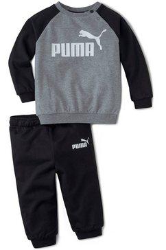 puma joggingpak »minicats ess raglan jogger« zwart