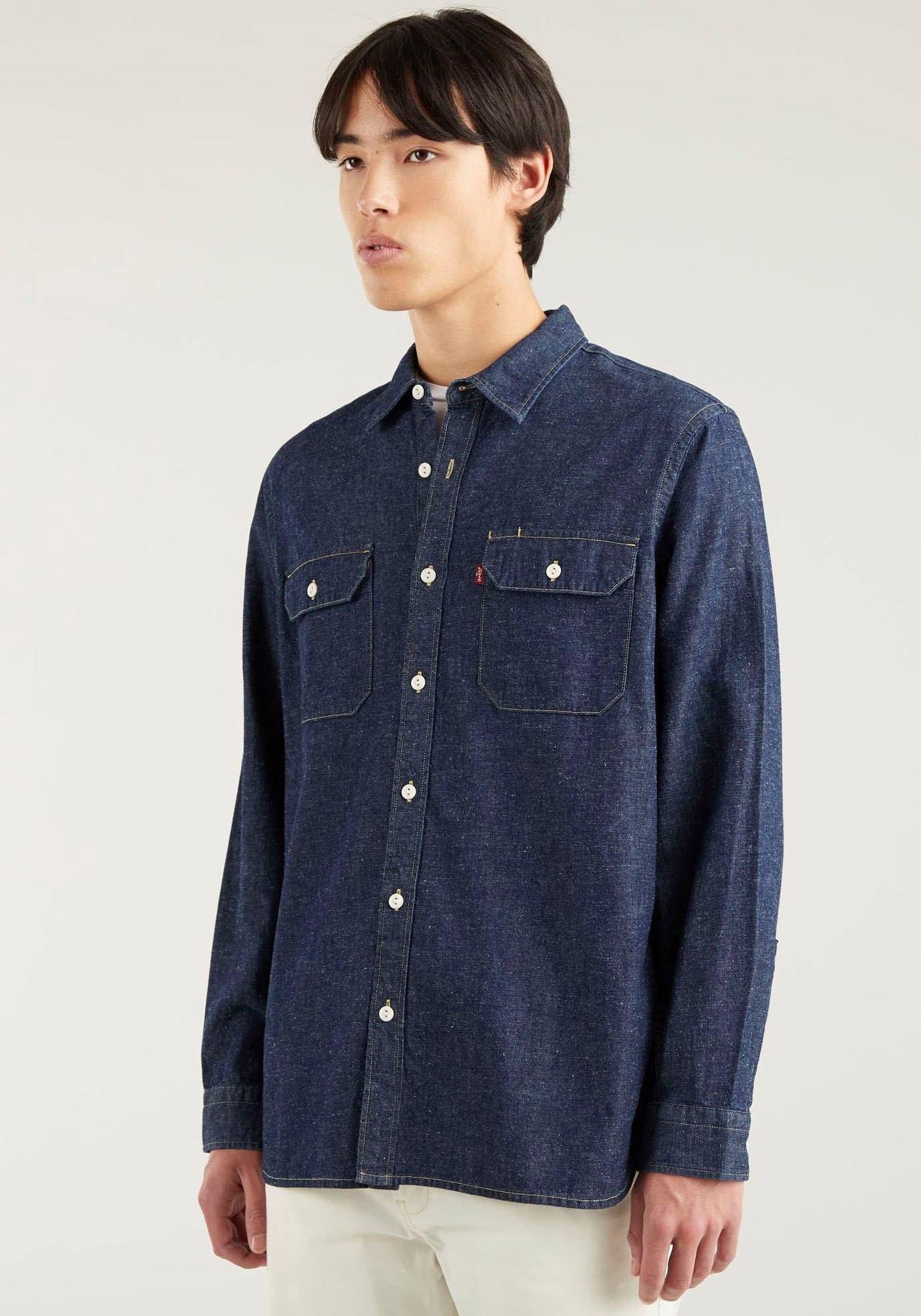 Levi's jeansoverhemd met borstzakken nu online kopen bij OTTO