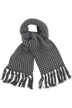j jayz gebreide sjaal grijs