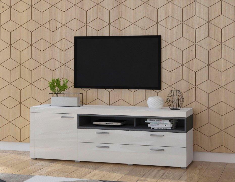 TRENDMANUFAKTUR tv-meubel »Cara« - verschillende betaalmethodes