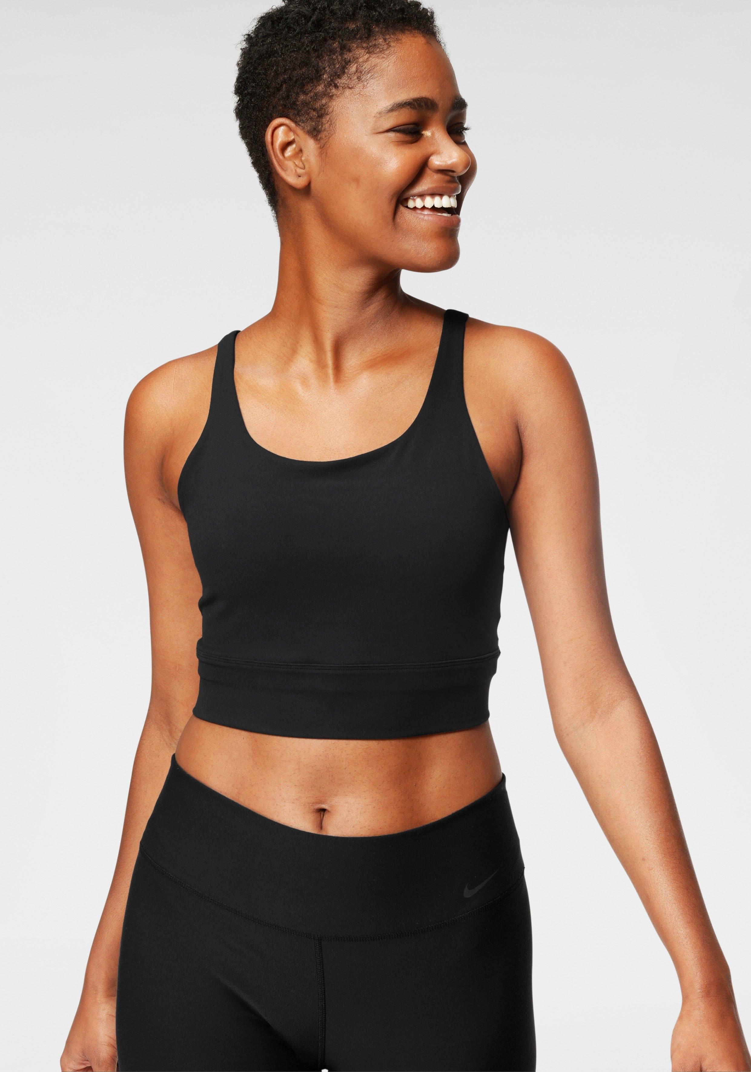 Nike yogatop The Nike Yoga Luxe Crop Tank voordelig en veilig online kopen
