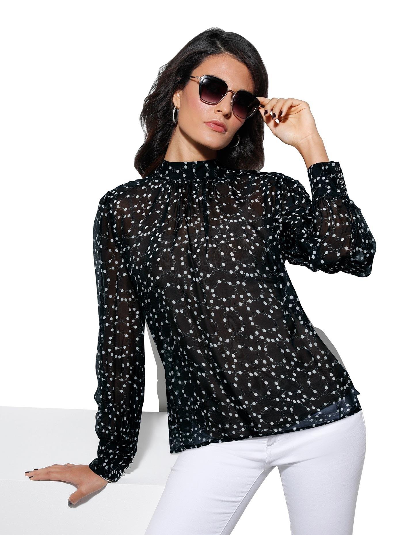 Creation L blouse met lange mouwen nu online kopen bij OTTO