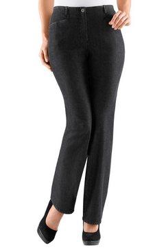 cosma jeans met aan de binnenkant elastische band zwart