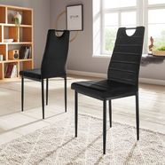 "my home stoel ""mandy"" zwart"
