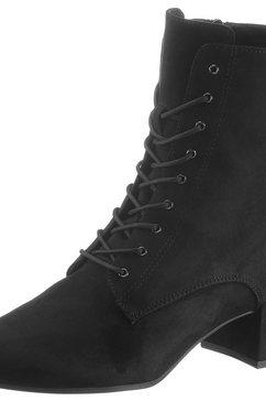 tamaris veterlaarsjes »cika« zwart