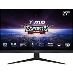 "msi gaming-monitor optix g271, 69 cm - 27 "", full hd, 3 jaar fabrieksgarantie zwart"