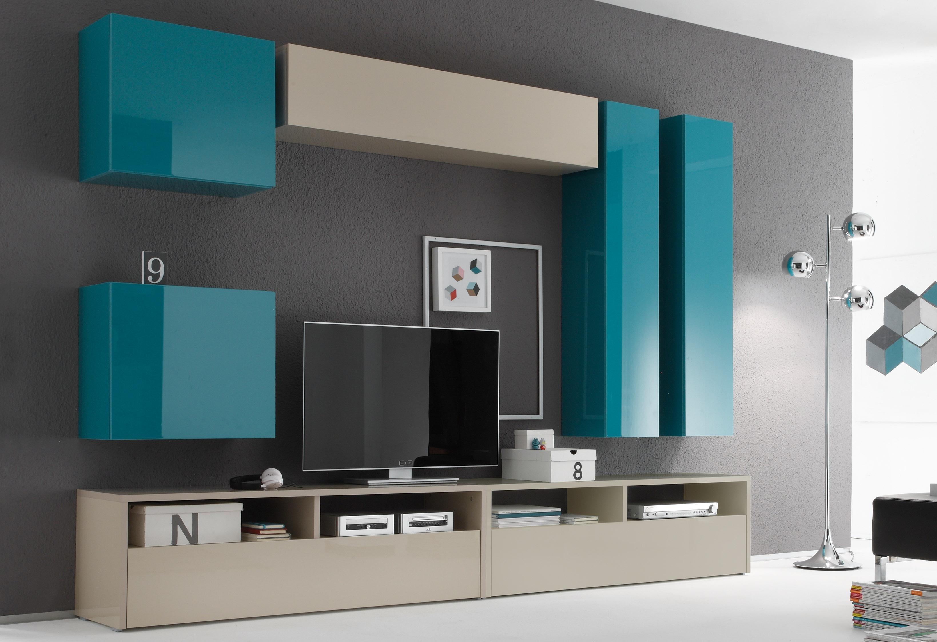 hangend kastje in hoogglans online shop otto. Black Bedroom Furniture Sets. Home Design Ideas