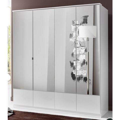 Garderobekast met spiegeldeuren
