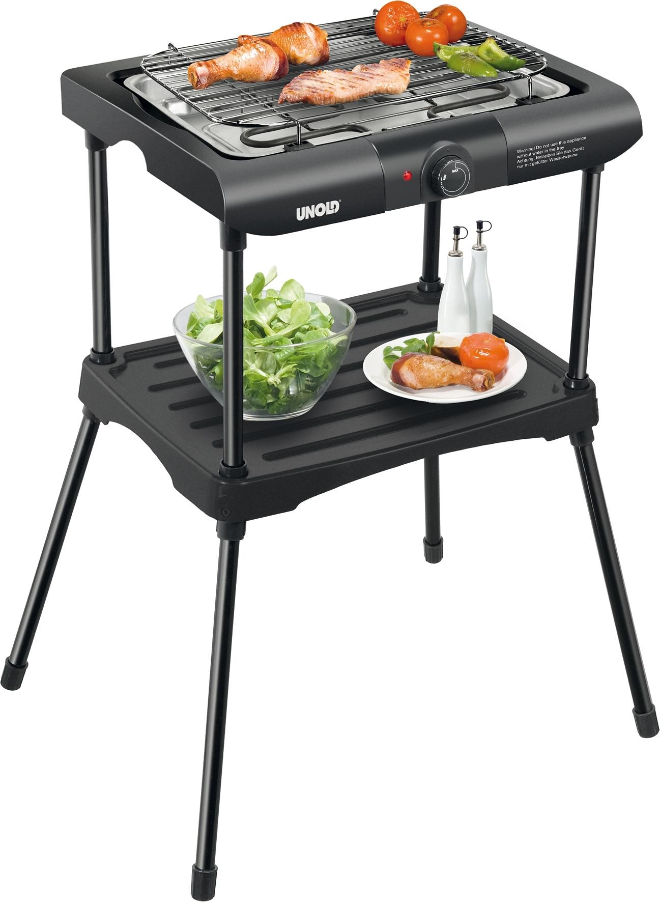 Unold Barbecue grill - verschillende betaalmethodes