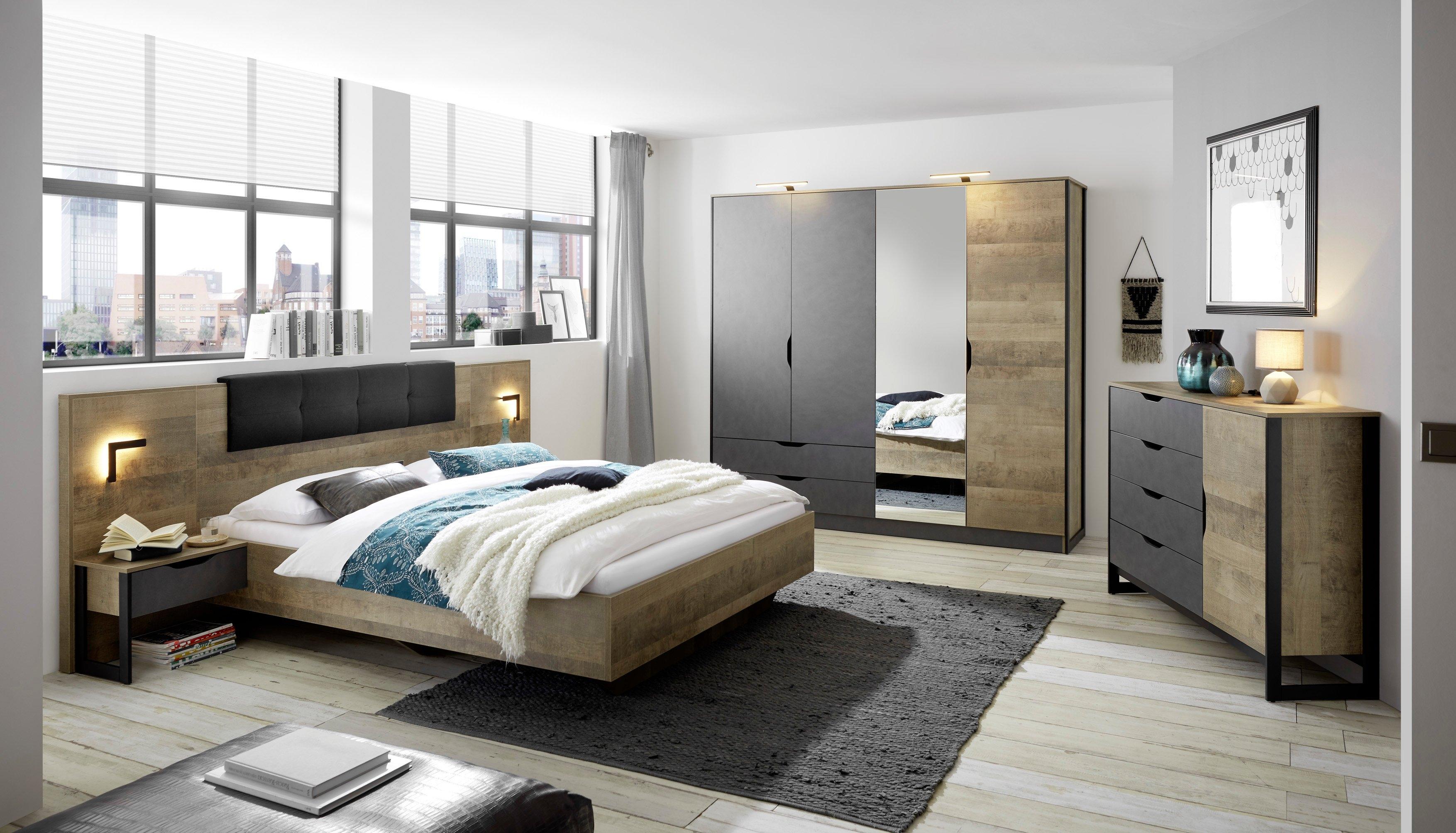 Places of Style slaapkamerserie MALTHE in trendy design (set, 5 stuks) veilig op otto.nl kopen