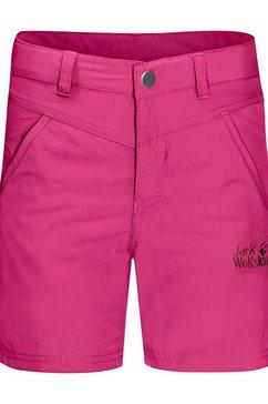 jack wolfskin short roze
