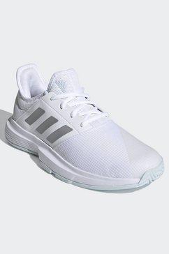 adidas performance tennisschoenen »gamecourt tennisschuh« wit