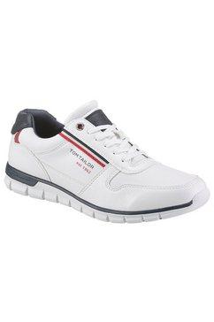 tom tailor sneakers met contrastbeleg wit