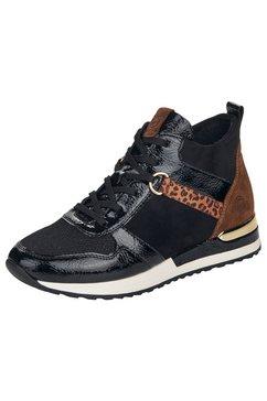 remonte sneakers met zacht verdikte binnenzool zwart