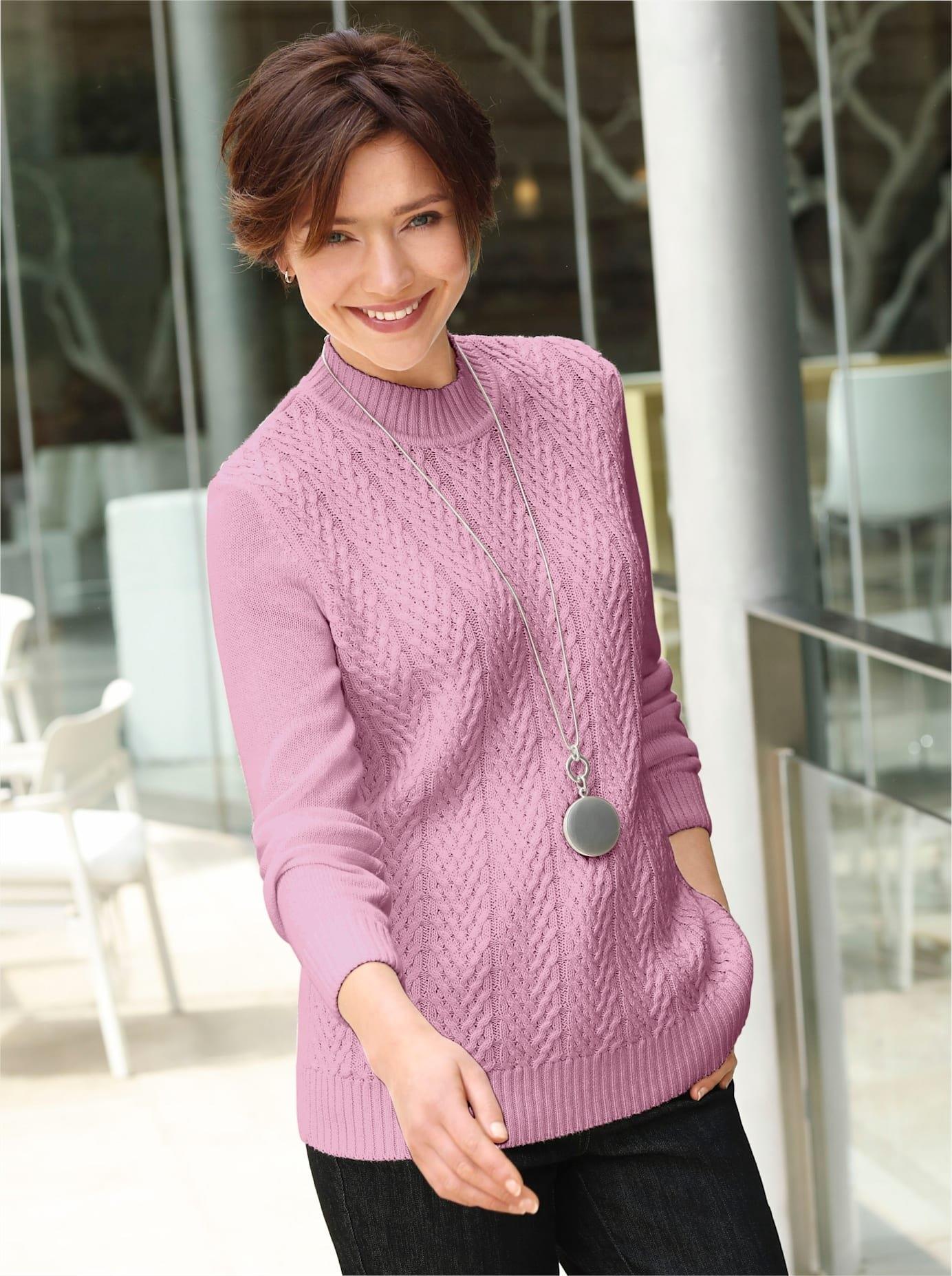 Casual Looks trui met staande kraag Trui bij OTTO online kopen