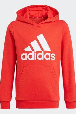 adidas performance sweatshirt hd essentials junior regular mens rood