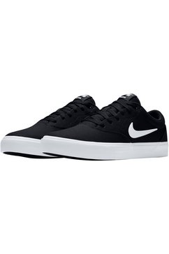 nike sb sneakers »charge solarsoft textile skate« zwart
