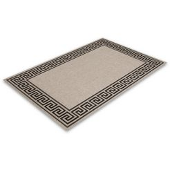 lalee vloerkleed finca 502 sisal-look, woonkamer zilver